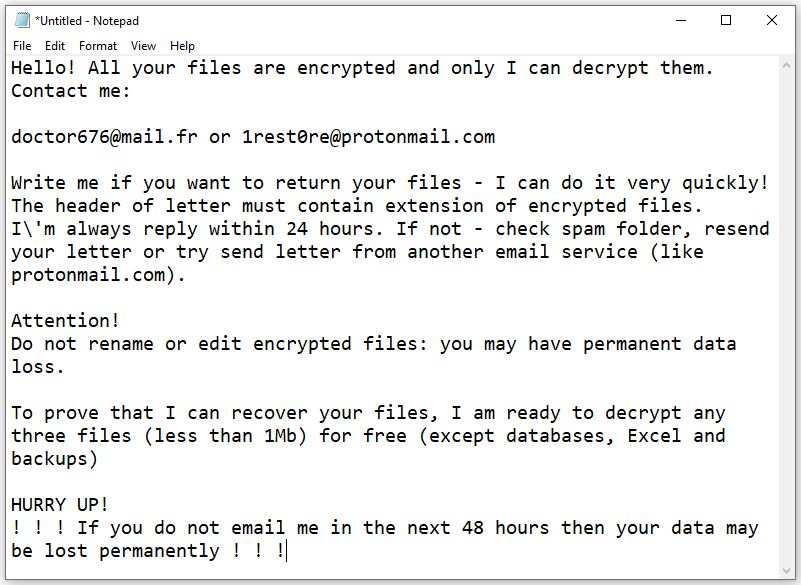 Zwbowhtlni ransomware